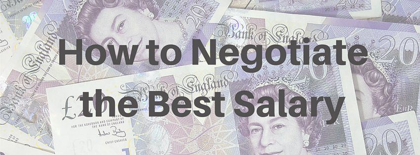 How to negotiate the best salary