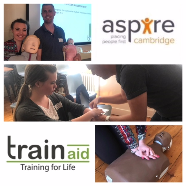 aspire cambridge and Train Aid