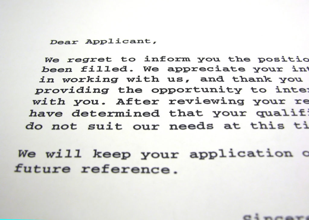 Do Your Rejection Letters Meet GDPR Laws?