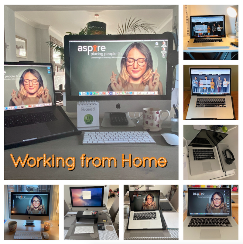 "Aspire Cambridge ""Places People First"" Initiating Home Working Protocol"