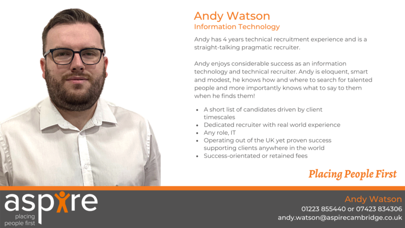 Andy Watson | Information Technology