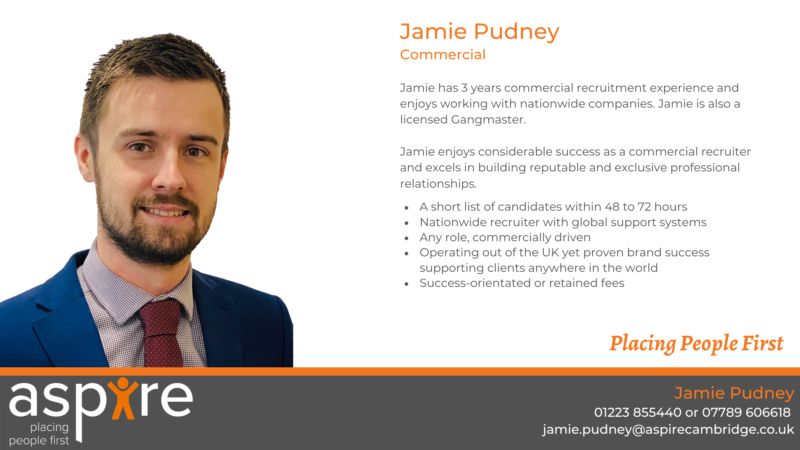 Jamie Pudney | Commercial