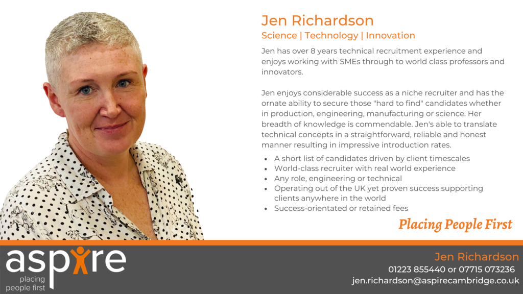 Jen Richardson | Science Technology & Innovation