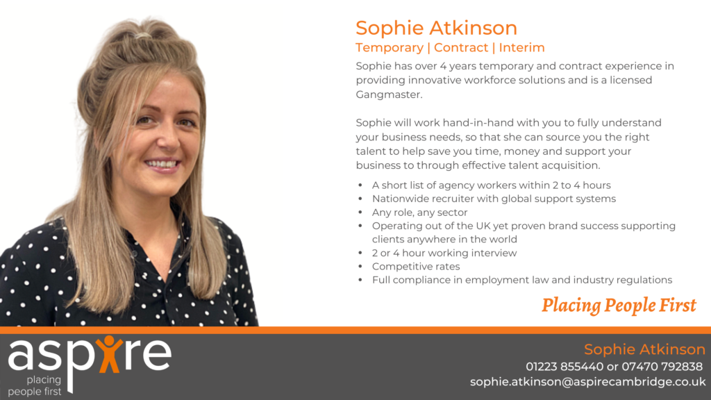 Sophie Atkinson | Temporary | Contract | Interim
