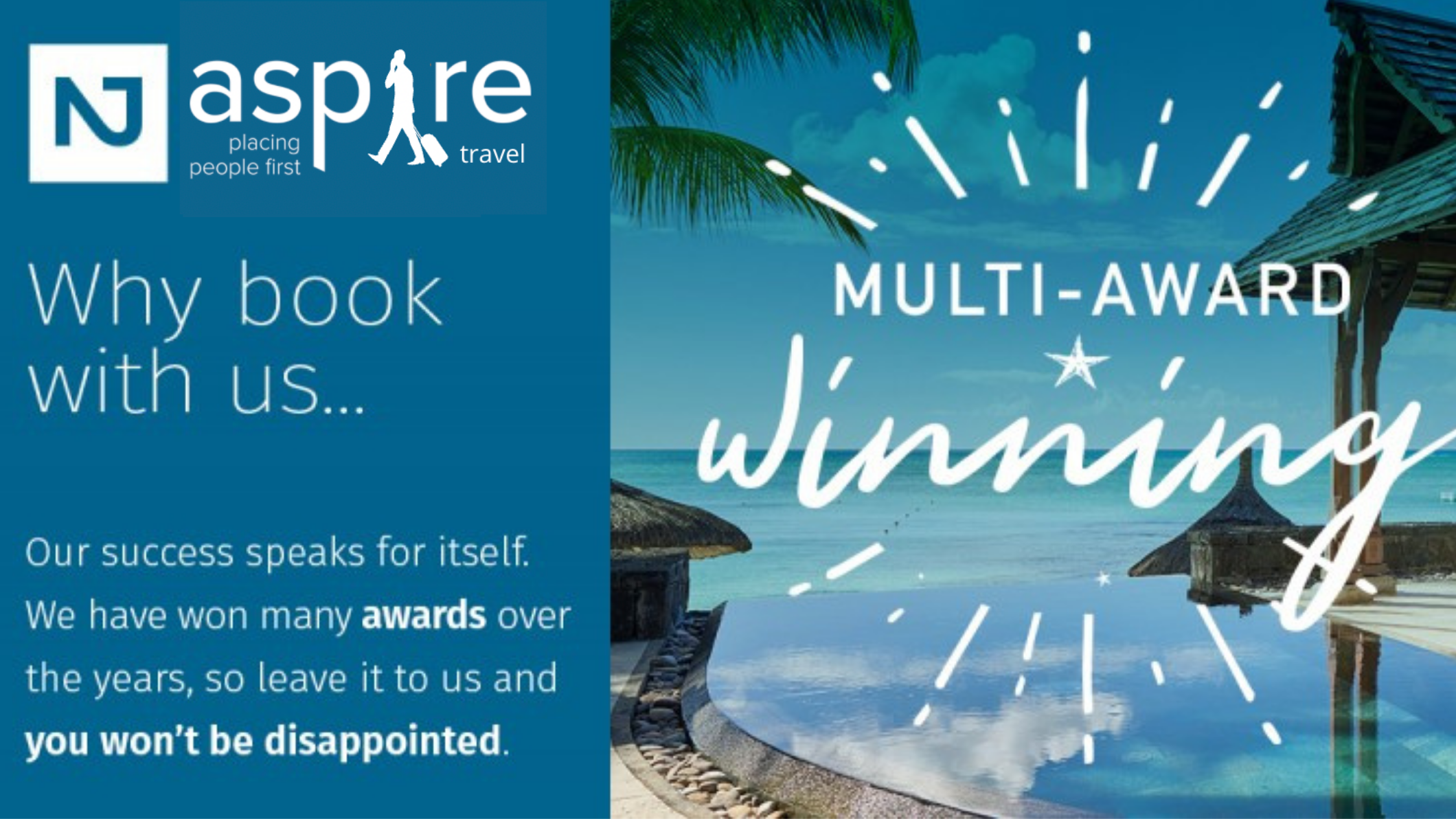 Aspire Cambridge announces the launch of Aspire Travel - Travel That Gives Back!